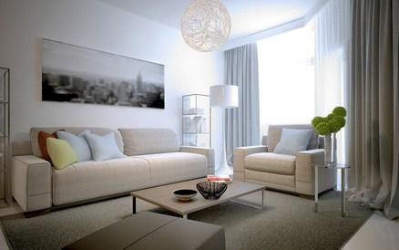 Canapé et table basse au design scandinave– Journal Déco